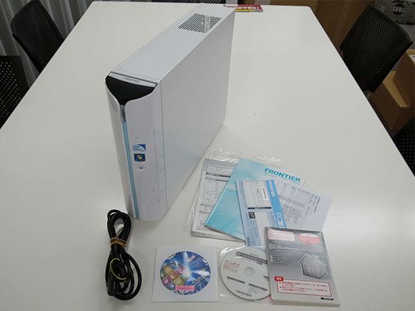 送料込み FRONTIER 114BF/KD Celeron Dual-Core G530/メモリ4GB/HDD1TB/DVDマルチ/Win7