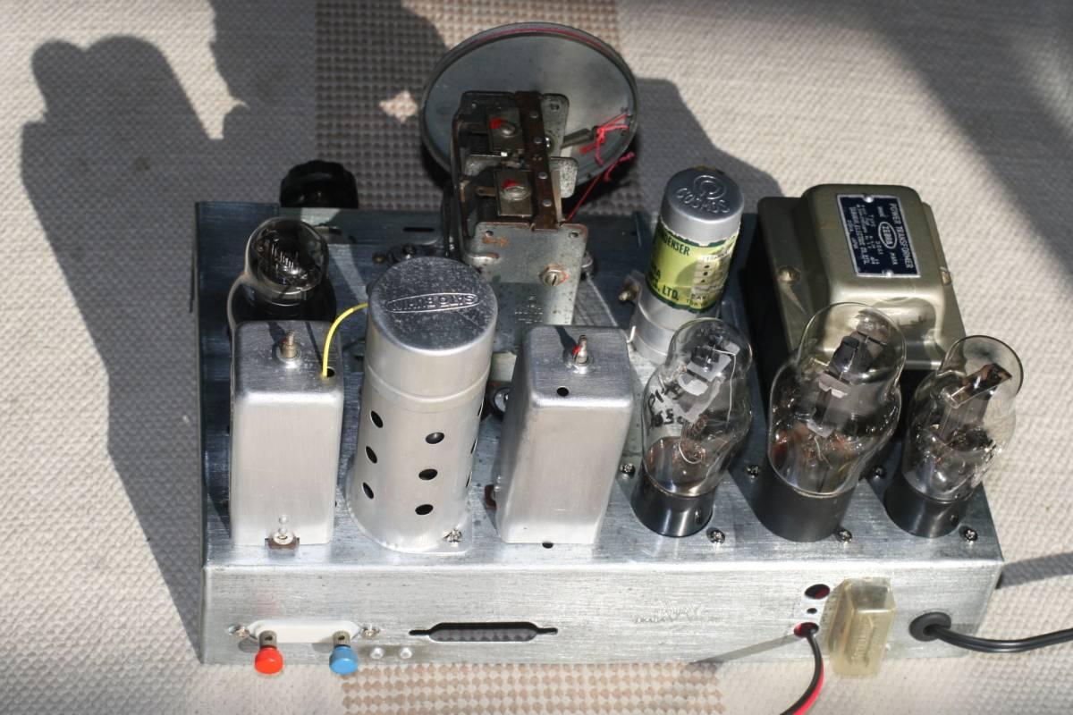 真空管ラジオ 自作ST管5球スーパーラジオ 感度良好    _画像2