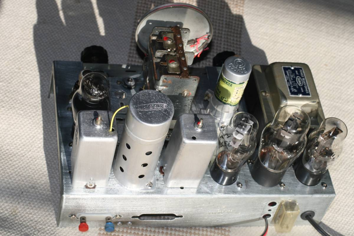 真空管ラジオ 自作ST管5球スーパーラジオ 感度良好    _画像4