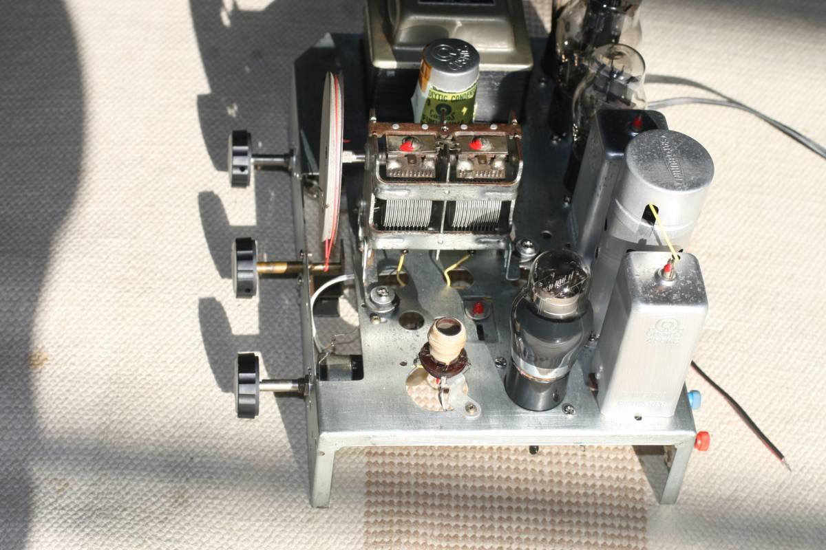 真空管ラジオ 自作ST管5球スーパーラジオ 感度良好    _画像5