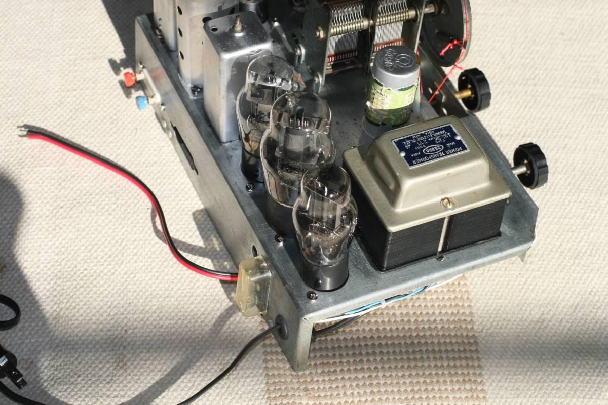 真空管ラジオ 自作ST管5球スーパーラジオ 感度良好    _画像6