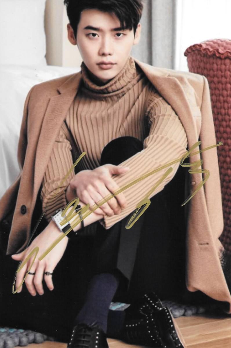 16.10★イ・ジョンソク★「W-君と僕の世界」直筆サイン入り写真450