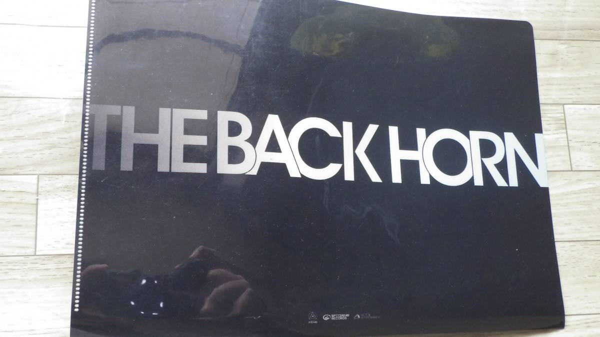 THE BACK HORN クリアファイル 未使用 バックホーン