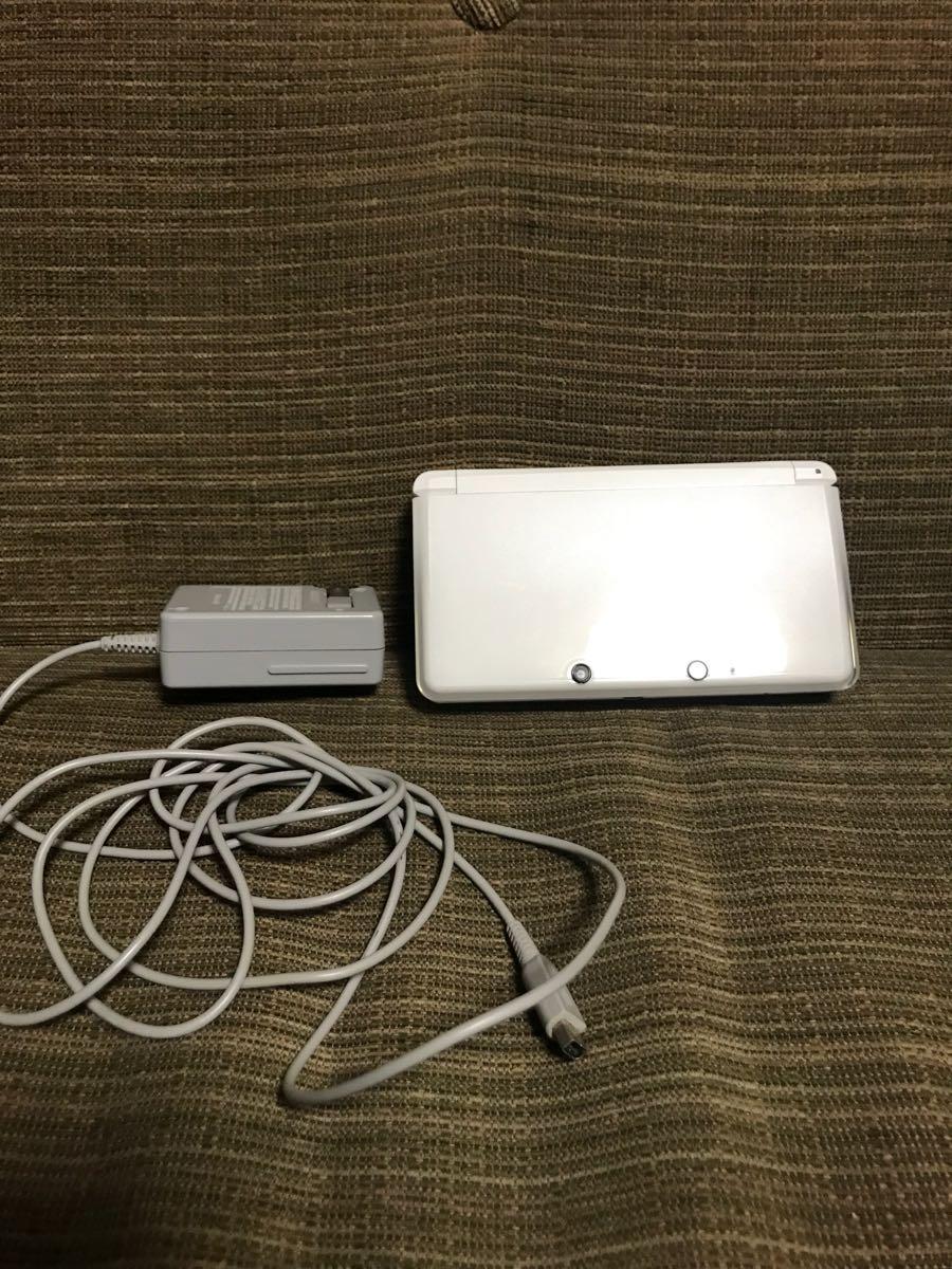 ◆NINTENDO 任天堂 3DS 本体 ホワイト