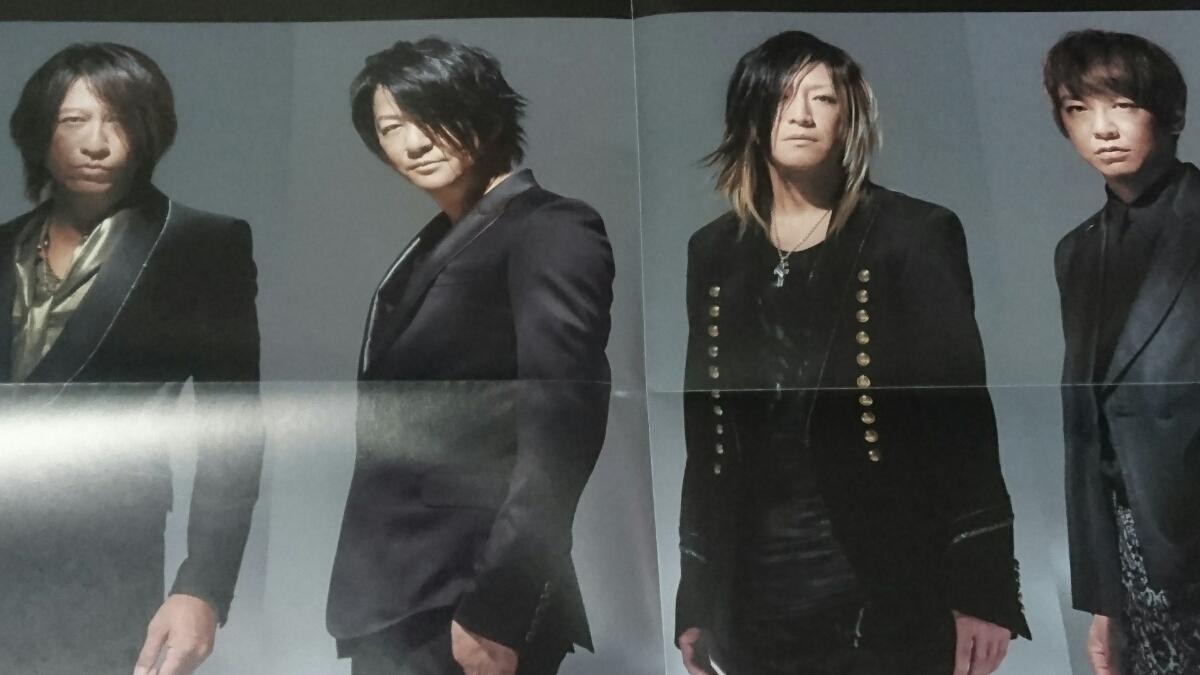 GLAYポスター★TSUTAYA record★WINTERDELICS.EPあなたといきてゆくTERU HISASHI JIRO TAKURO