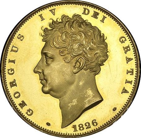 80年ぶり 1826年 英国 ジョージ4世 8枚プルーフ金貨&銀貨セット_画像5