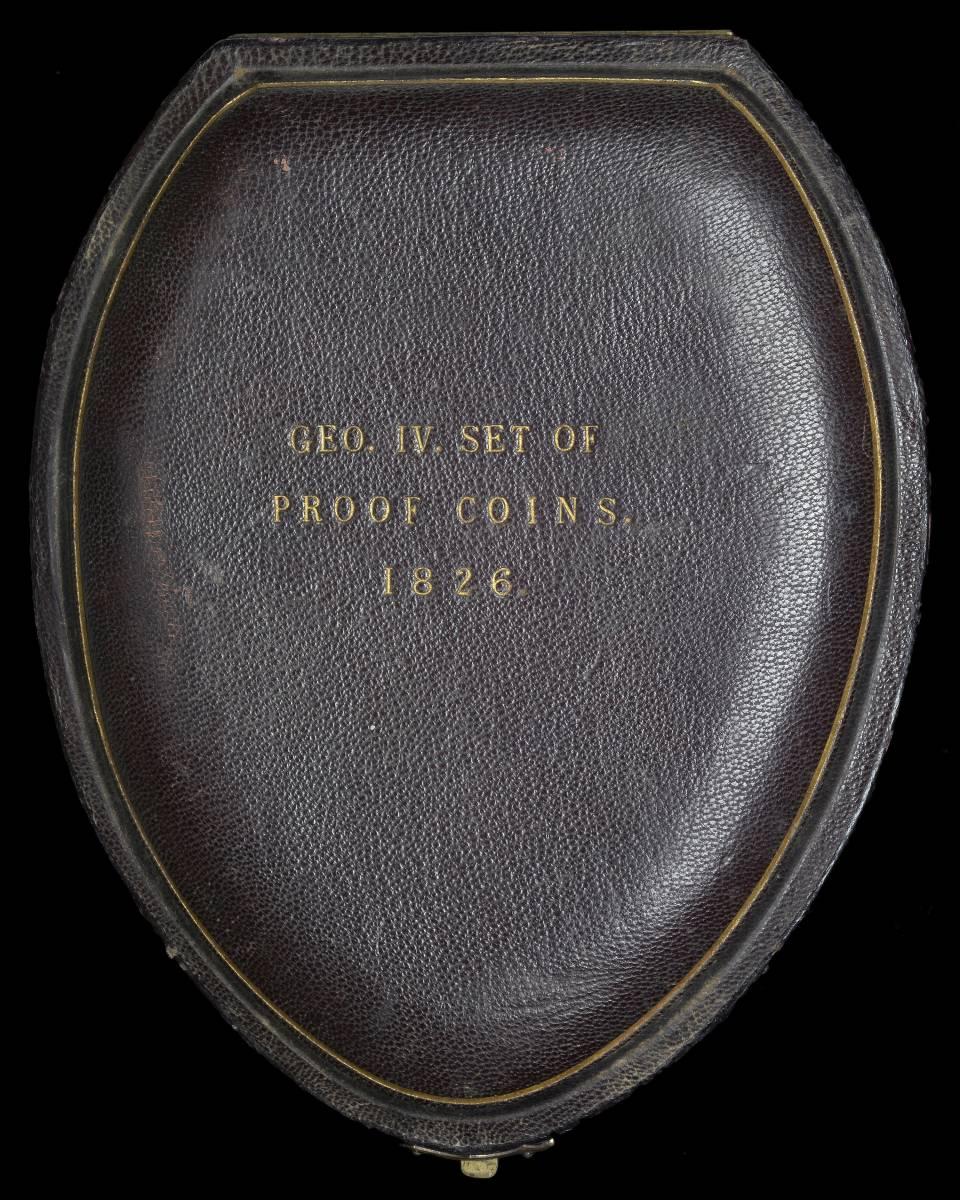 80年ぶり 1826年 英国 ジョージ4世 8枚プルーフ金貨&銀貨セット_画像4