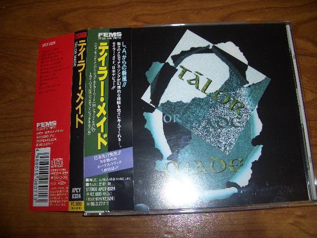 TALOR MADE/テイラー・メイド 日本盤1996 アポロンからの発売 melodious hard/LA META