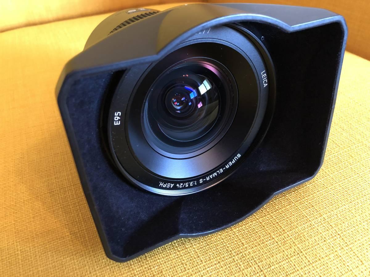Leica ライカ SUPER ELMAR スーパーエルマー S 24mm F3.5 ASPH