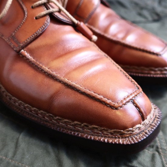 ブヒシューズ STEFANOBI/ステファノビ 26.5cm / 8 1/2 美品/ 送料無料/ ステファノブランキーニ /ノルベジェーゼ製法 /革靴/Uチップ_ブヒシューズ ステファノビ 革靴