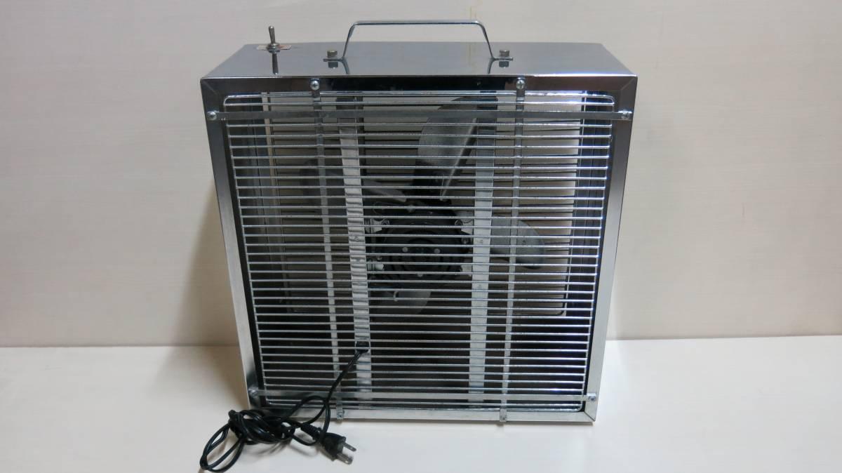 中古 Delight Electric MODEL EL062 アンティーク 扇風機 U.S メタル ボックス ファン 2002年製_画像2