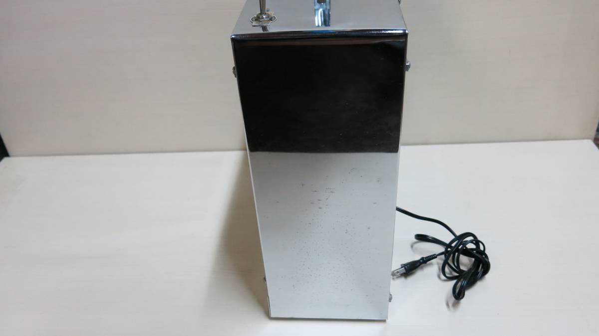 中古 Delight Electric MODEL EL062 アンティーク 扇風機 U.S メタル ボックス ファン 2002年製_画像4