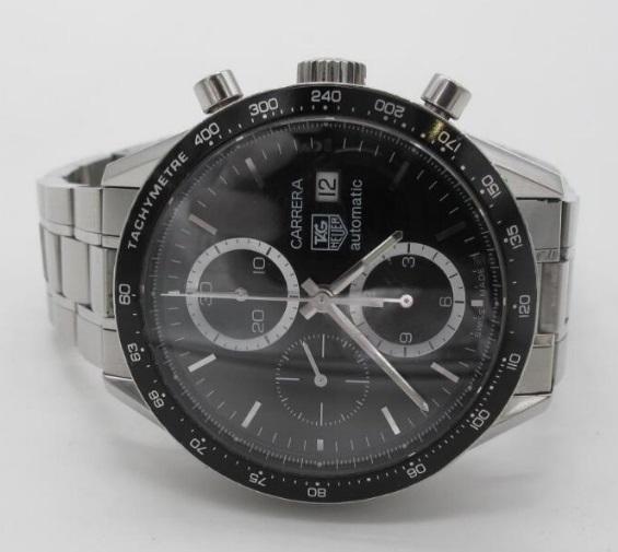 タ グ ホ イ ヤー TAG HEUER カレラ クロノグラフ 自動巻き 腕時計 CV2010BA0794_画像2