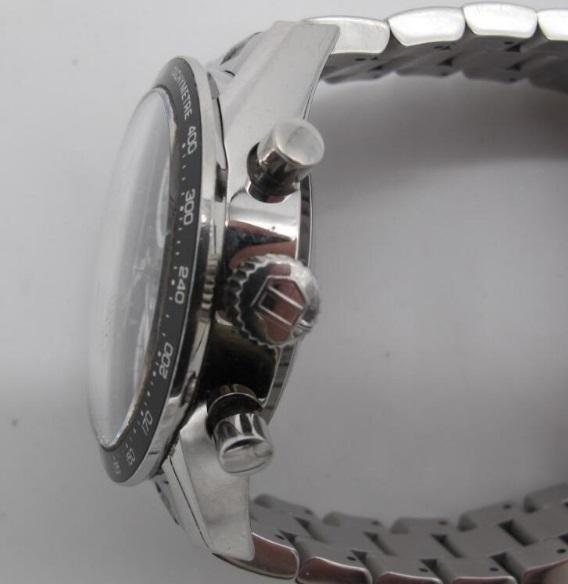 タ グ ホ イ ヤー TAG HEUER カレラ クロノグラフ 自動巻き 腕時計 CV2010BA0794_画像3
