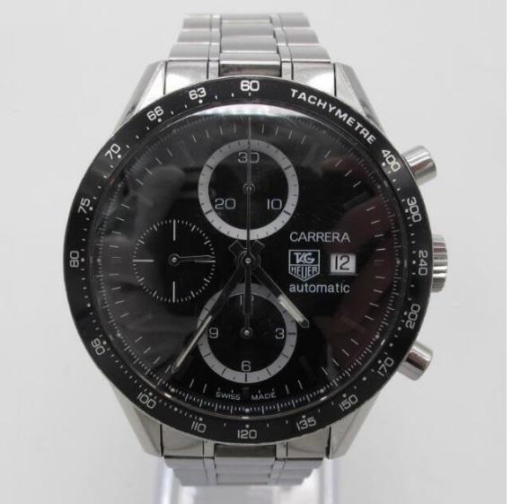 タ グ ホ イ ヤー TAG HEUER カレラ クロノグラフ 自動巻き 腕時計 CV2010BA0794