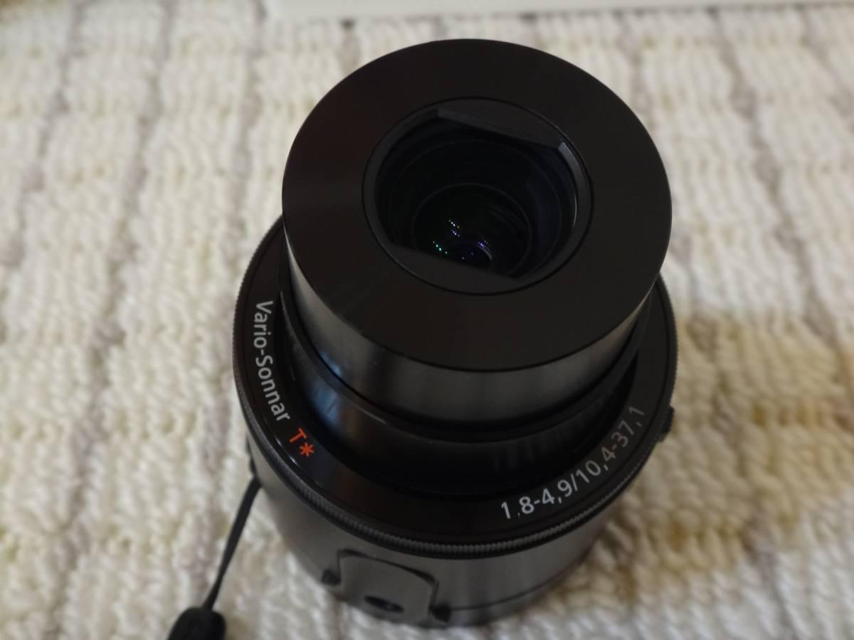 美品 Sony DSC-QX100 デジカメ Cyber-shot 1.0型センサ F1.8_画像3
