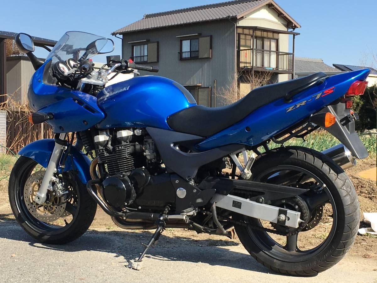 ZR-7S ブルー みよし市_画像5