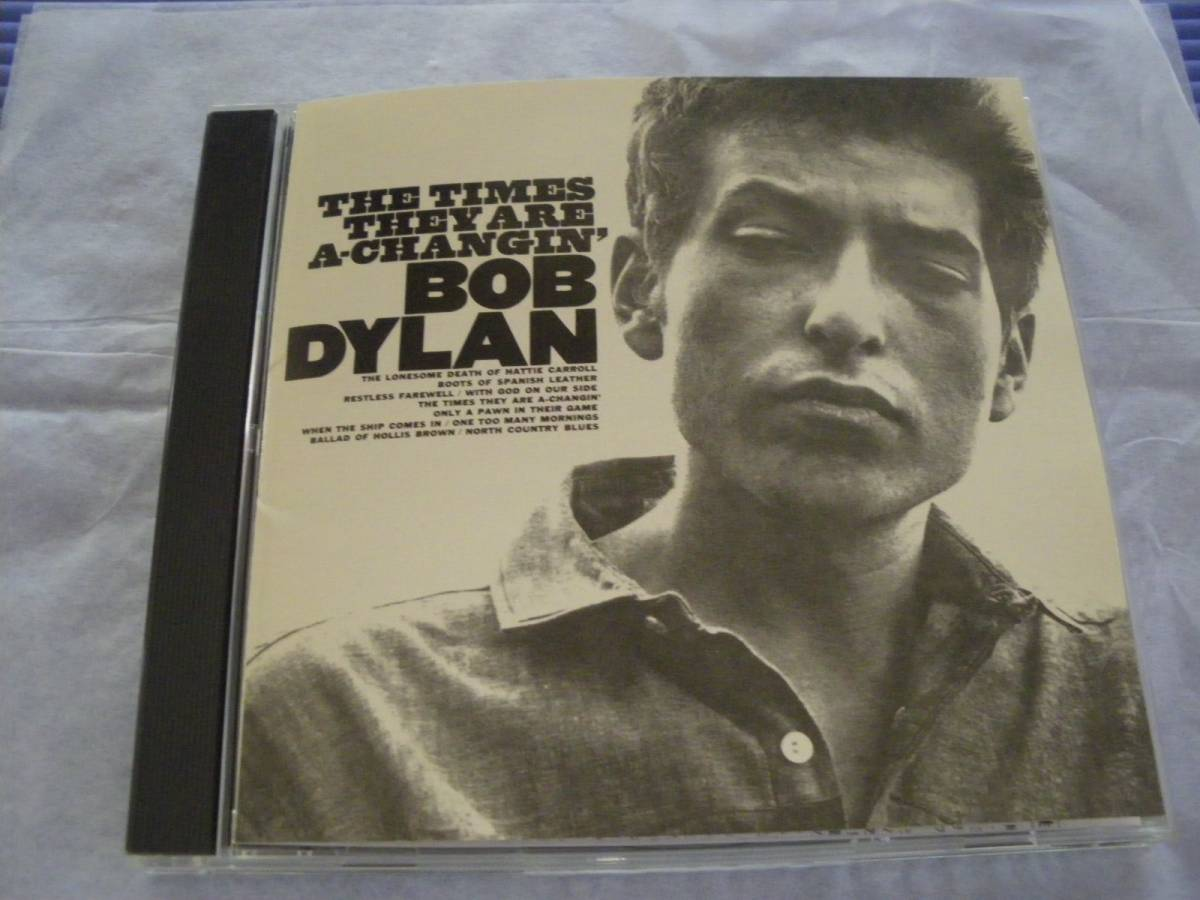 CD]ボブディラン BOB DYLAN/時代は変わる THE TIMES THEY ARE A CHANGIN'_画像1