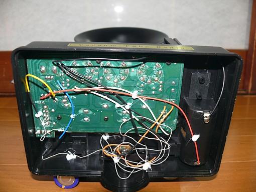真空管ラジオ 再生式ラジオ 電池管 学研 レトロラジオ オブジェ 電池管ラジオ_画像7
