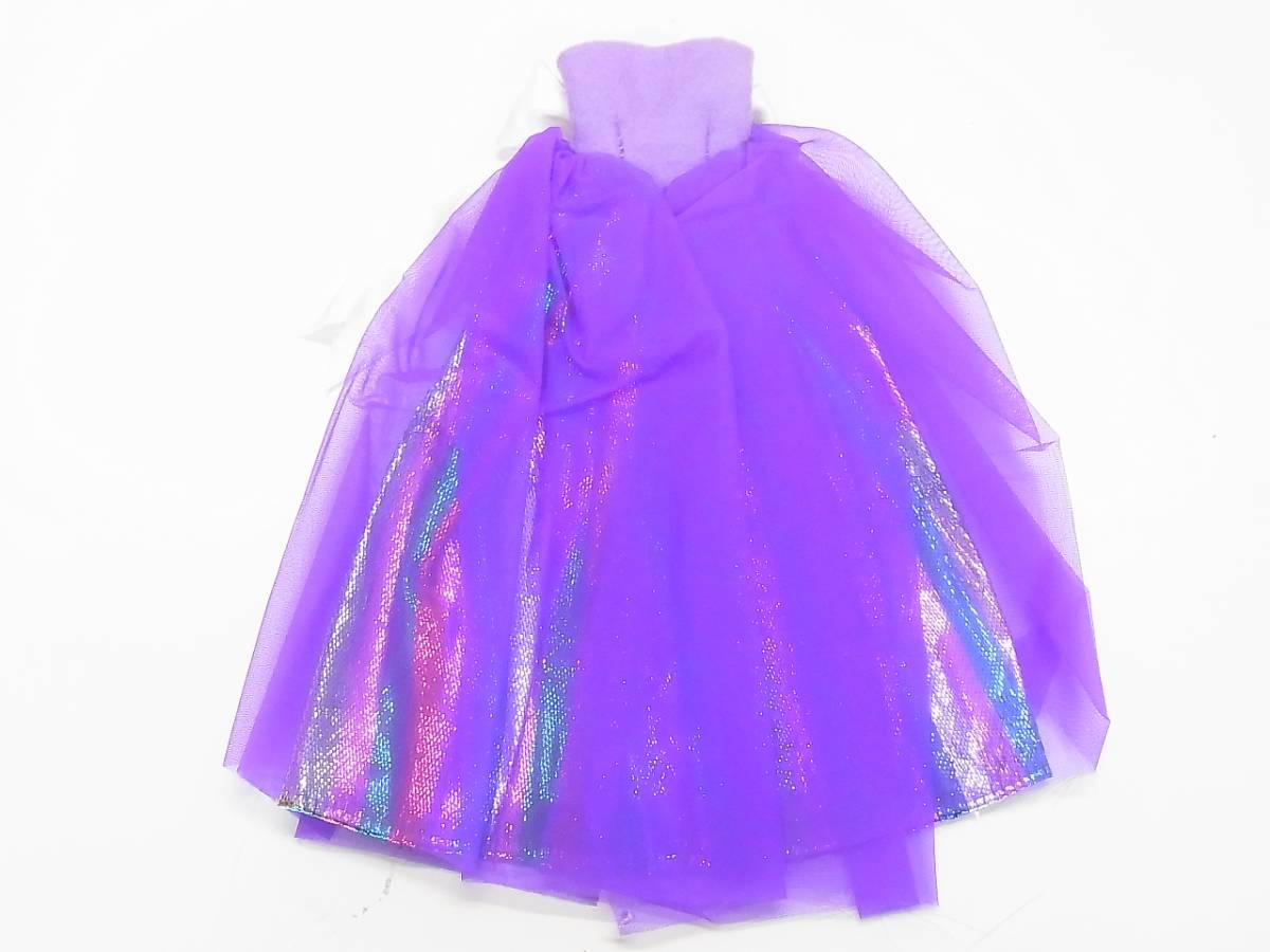 α2 バービー ジェニー ドレス 人形 ハンドメイド お洋服 未使用 パーティードレス 送料340円_画像3