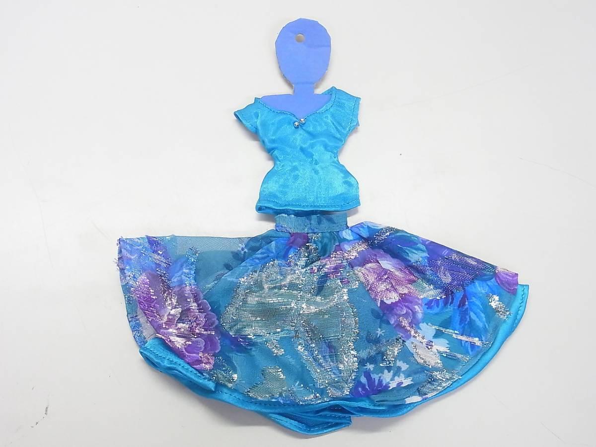 α2 バービー ジェニー ドレス 人形 ハンドメイド お洋服 未使用 パーティードレス 送料340円_画像4