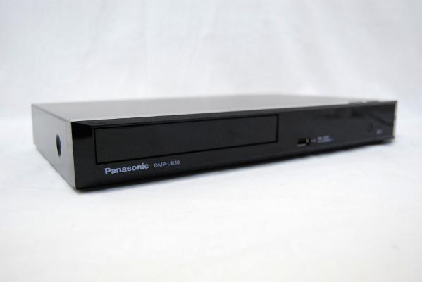 送料無料 Panasonic パナソニック ブルーレイディスクプレーヤー DMP-UB30-K 2017年製 中古美品
