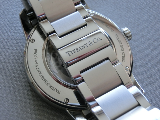 TIFFANY&Co.★ティファニー [アトラスドーム] オート XL メンズ 腕時計【Z1810.68.10A10A00A】黒文字盤 自動巻き ★超美品_画像7