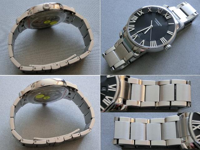 TIFFANY&Co.★ティファニー [アトラスドーム] オート XL メンズ 腕時計【Z1810.68.10A10A00A】黒文字盤 自動巻き ★超美品_画像5