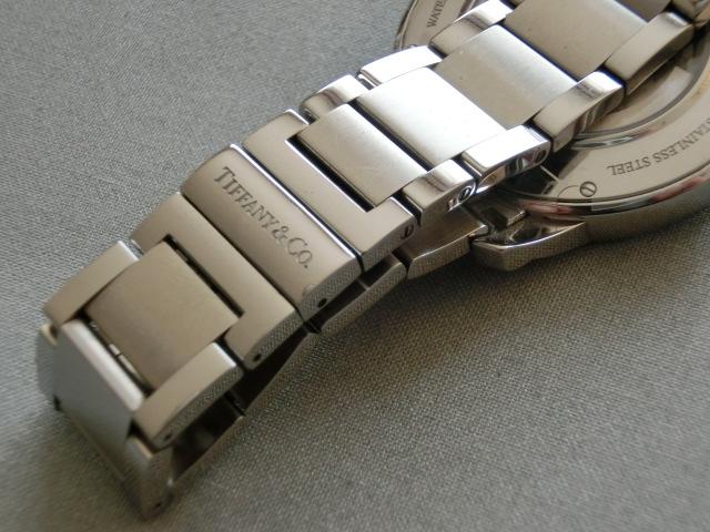 TIFFANY&Co.★ティファニー [アトラスドーム] オート XL メンズ 腕時計【Z1810.68.10A10A00A】黒文字盤 自動巻き ★超美品_画像6