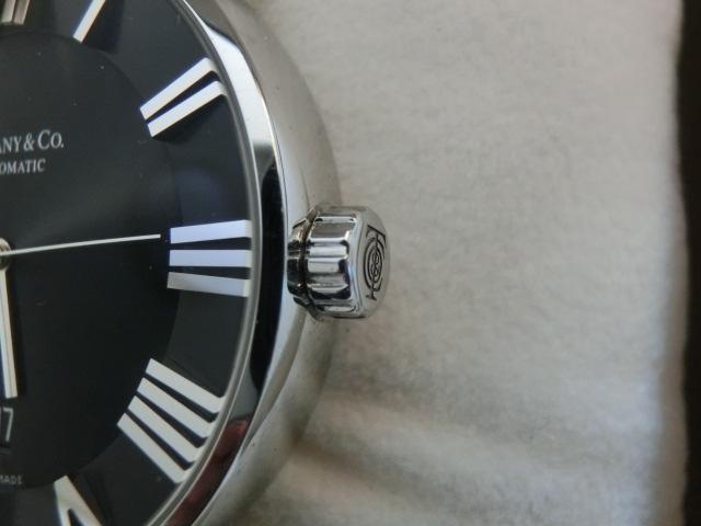 TIFFANY&Co.★ティファニー [アトラスドーム] オート XL メンズ 腕時計【Z1810.68.10A10A00A】黒文字盤 自動巻き ★超美品_画像4