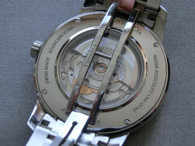 TIFFANY&Co.★ティファニー [アトラスドーム] オート XL メンズ 腕時計【Z1810.68.10A10A00A】黒文字盤 自動巻き ★超美品_画像8