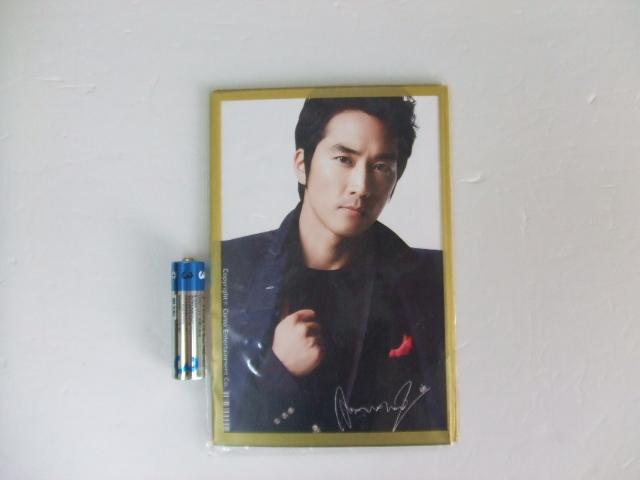 ソン・スンホン ( Song Seung Heon)  ポストカード 10枚 ステッカー 未使用品 送料82円