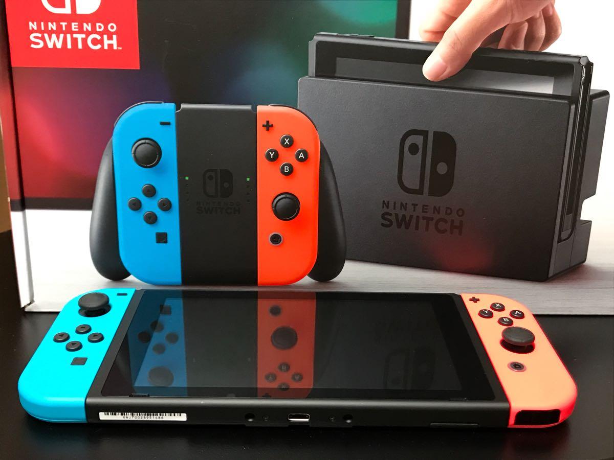 任天堂 Nintendo Switch Joy-Con (L) ネオンブルー/ (R) ネオンレッド