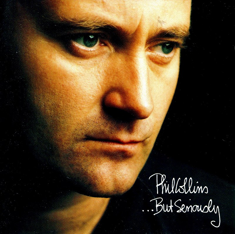 ◆◆PHIL COLLINS◆BUT SERIOUSLY 89年作 国内盤 フィル・コリンズ バット・シリアスリー 即決 送料込◆◆_画像1
