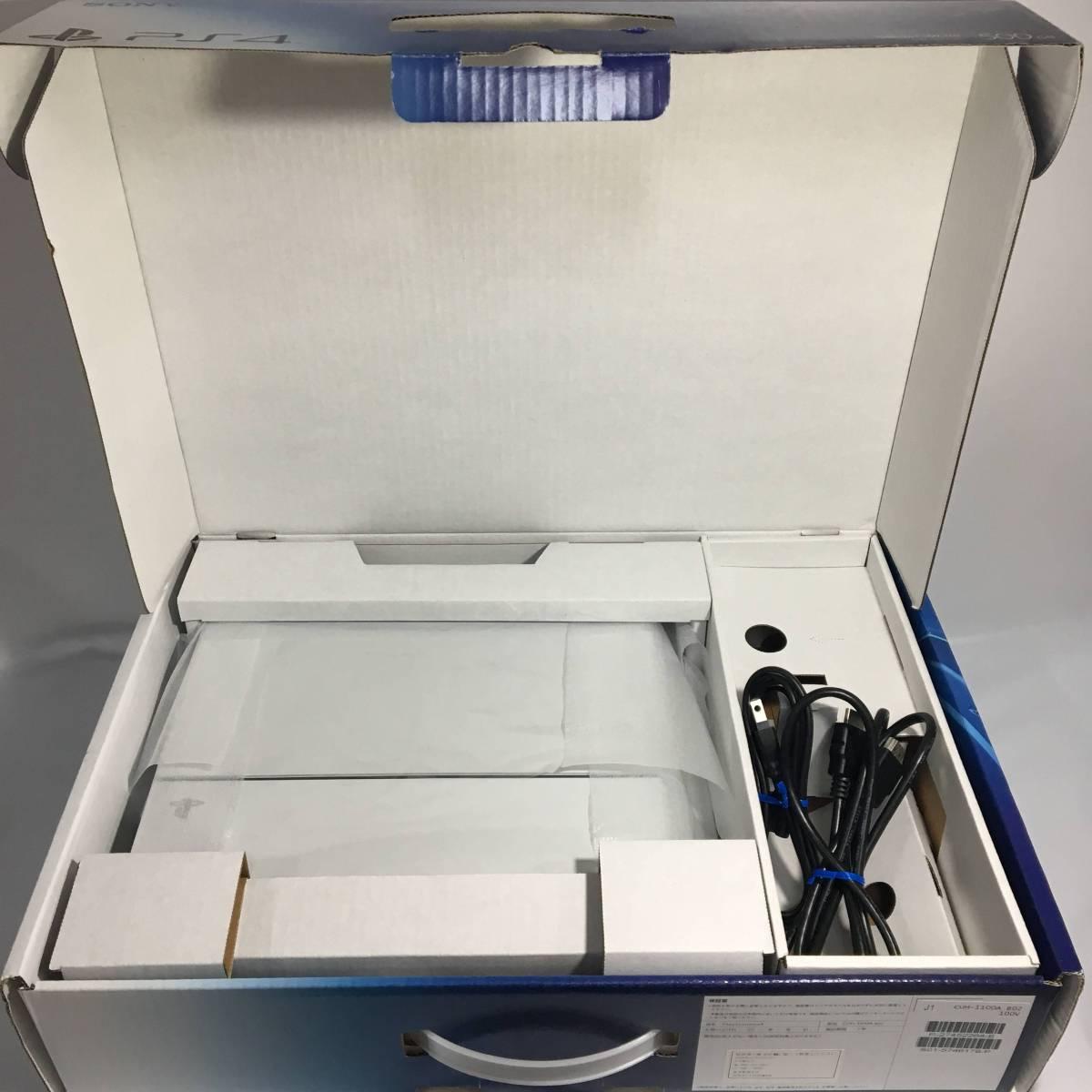 PS4 プレイステーション4 CUH-1100A 500GB 本体 ケーブルセット ホワイト 白 まとめ ソニー ソフト プレステ 中古 Pro VR_画像2