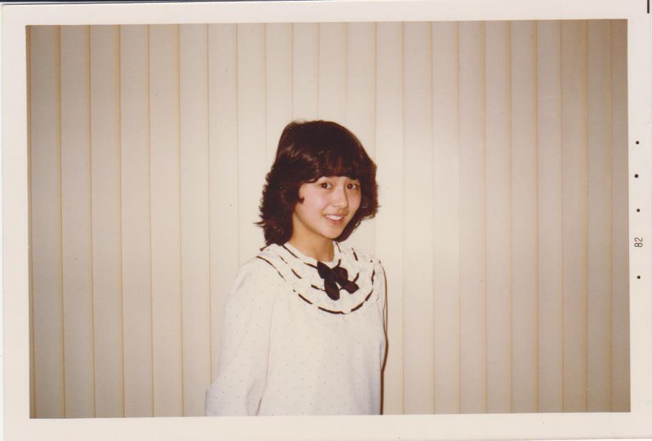小泉今日子 生写真 83年 ②