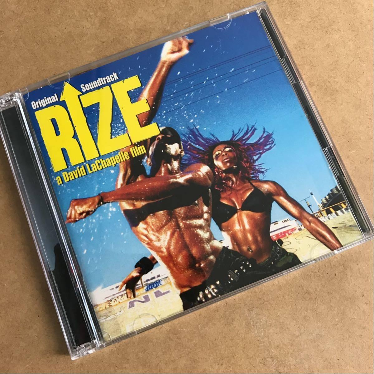 DVD付■RIZE オリジナルサウンドトラック■ニュー・ダンスのドキュメンタリー映画サントラ■Flii Stylz/Dizzee Rascal/Christina Aguilera_画像1