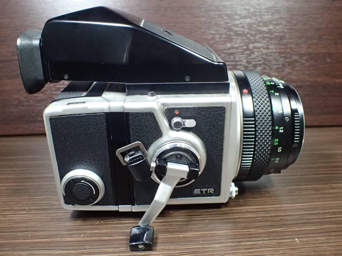 BRONICA ETR ブロニカ + ZENZANON MC 75mm 2.8 訳アリ _画像3