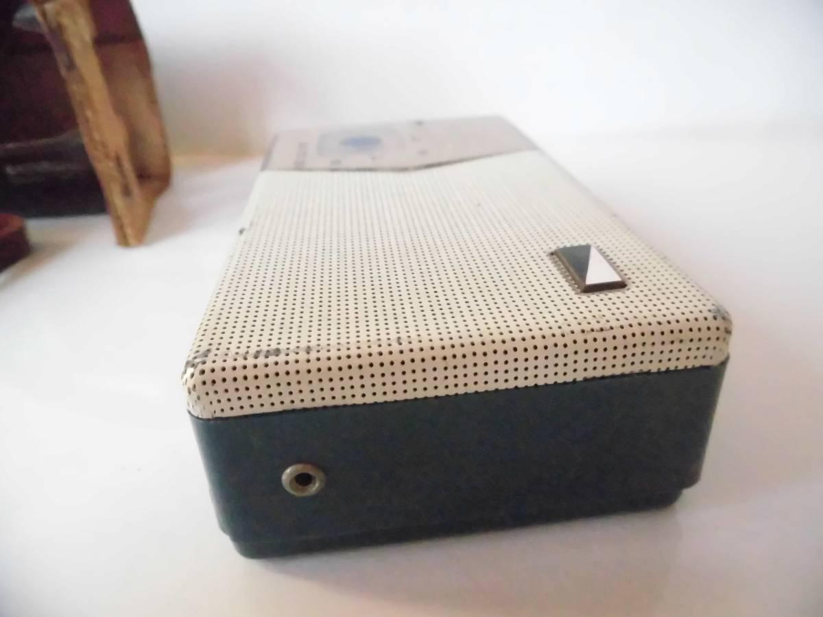 n133 ジャンク ナショナル トランジスタラジオ AT-200 年代物 昭和レトロ_画像6