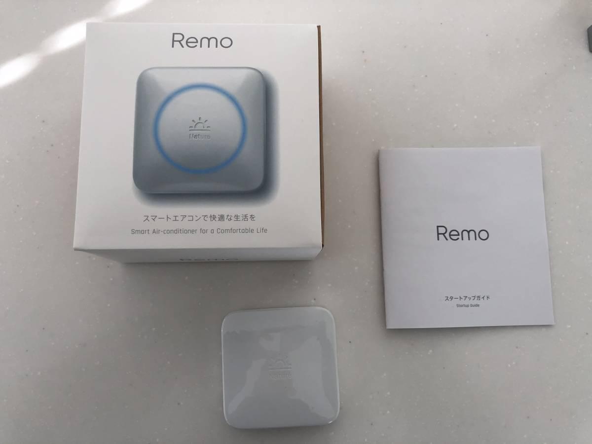 正規品 入手困難 Nature remo ネイチャー リモ googlehomeで音声リモコン連携