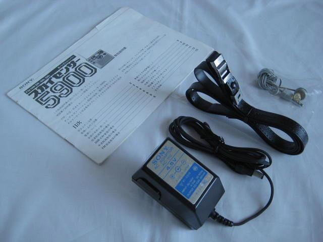 BCL 極上品 完全動作調整済品 SONY ソニー スカイセンサー5900 後期型 箱入 高感度受信 スプレッドダイヤル 昭和トランジスタラジオ_画像9