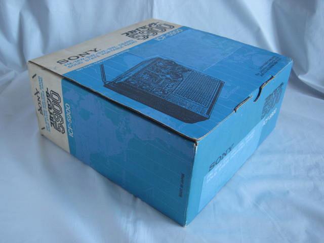 BCL 極上品 完全動作調整済品 SONY ソニー スカイセンサー5900 後期型 箱入 高感度受信 スプレッドダイヤル 昭和トランジスタラジオ_画像10