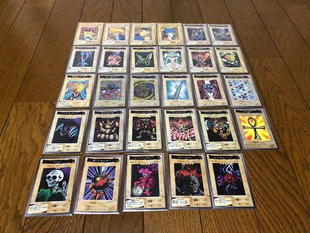 バンダイ版カード29枚