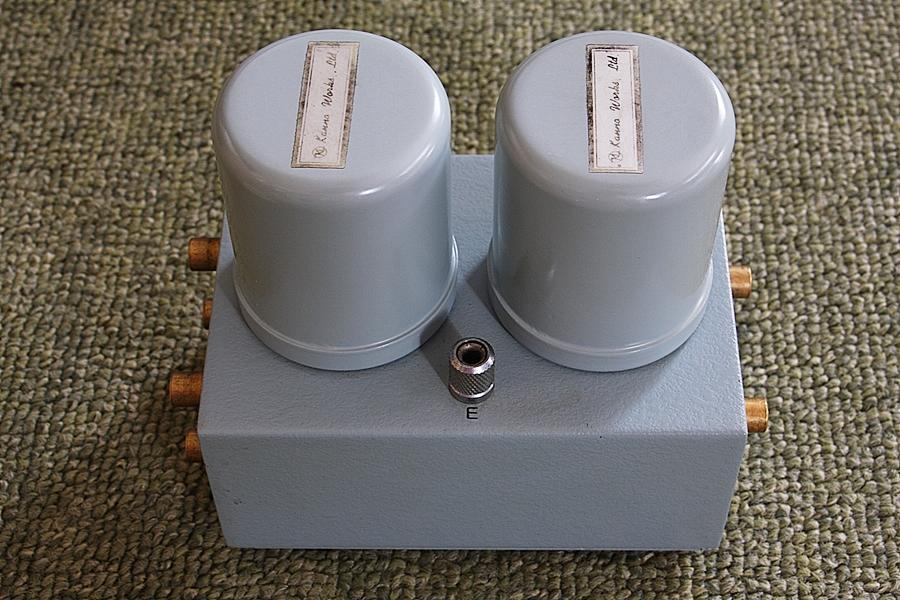 ◆カンノ製作所 MC昇圧トランス初期型USW-3125 中古美品◆