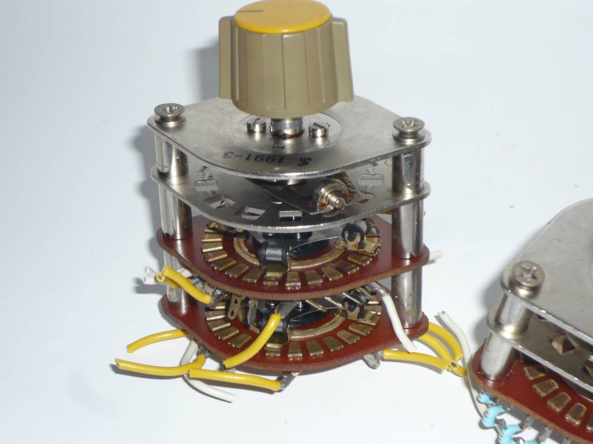 自作派の為の電子部品 ロータリースイッチ 2段1回路26接点 2セット_画像4