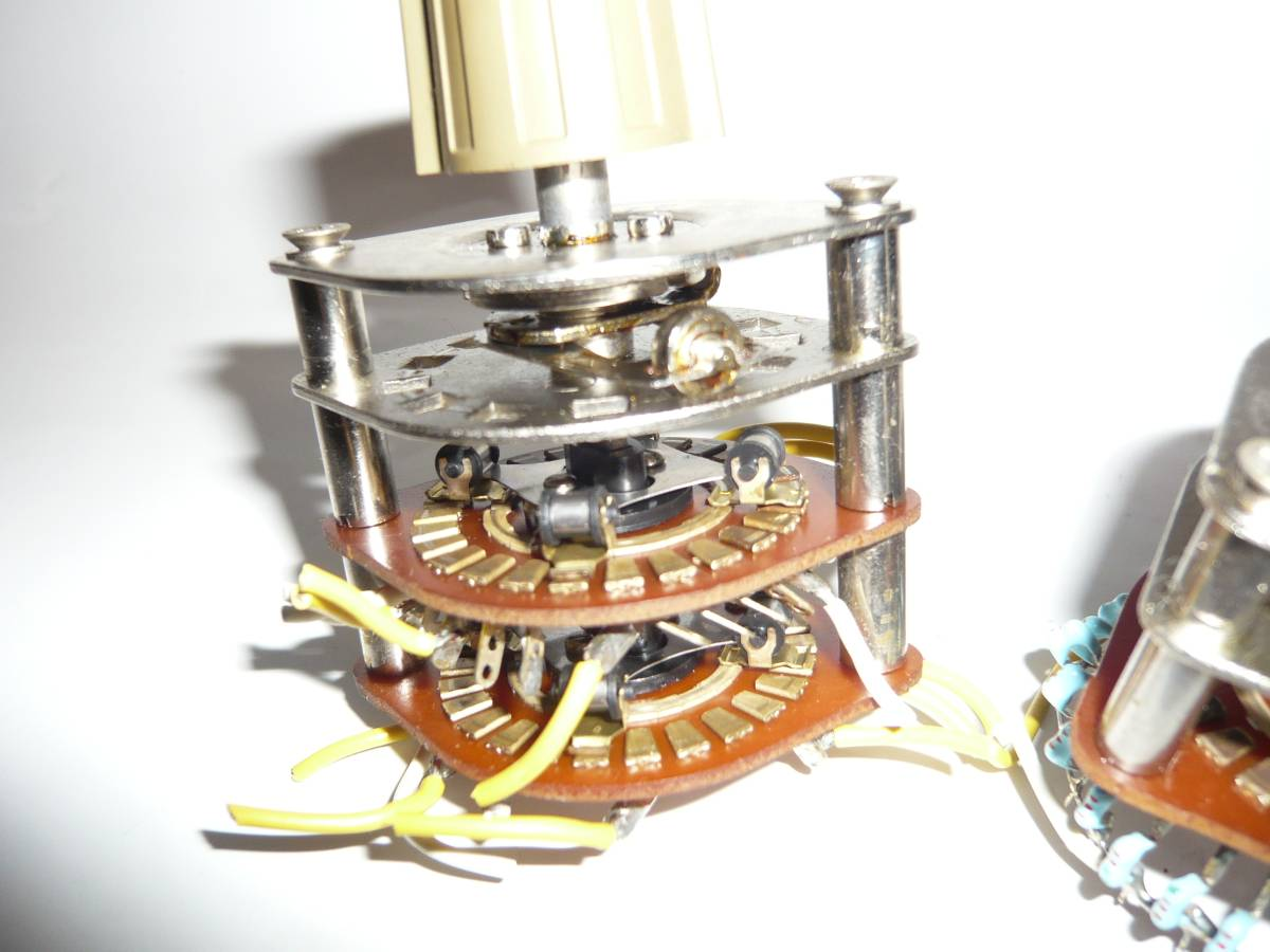 自作派の為の電子部品 ロータリースイッチ 2段1回路26接点 2セット_画像6