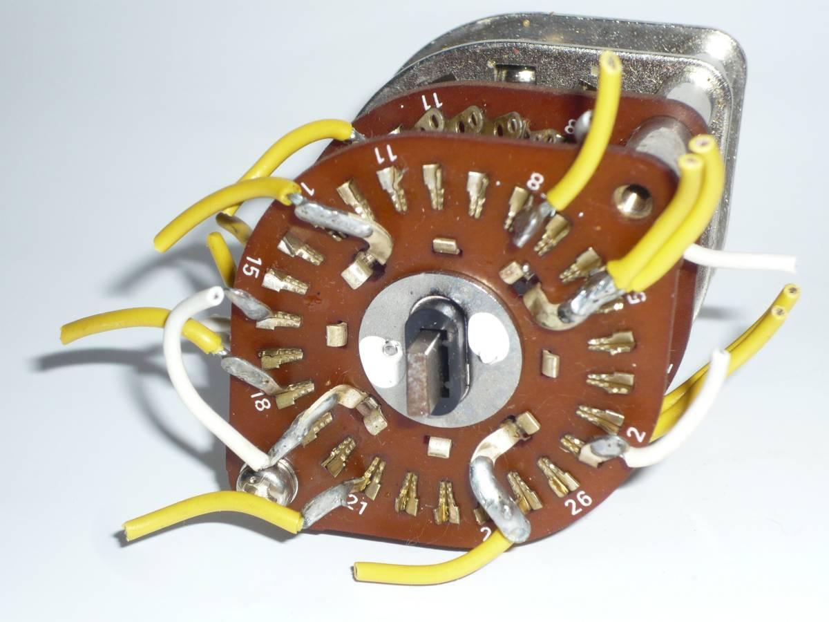 自作派の為の電子部品 ロータリースイッチ 2段1回路26接点 2セット_画像9