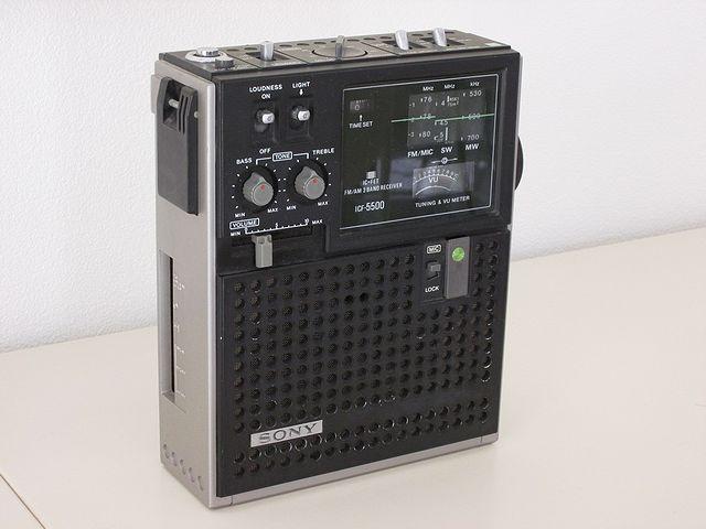ソニー BCLラジオ スカイセンサー5500 ICF-5500