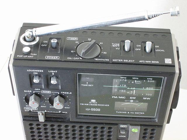 ソニー BCLラジオ スカイセンサー5500 ICF-5500_画像2