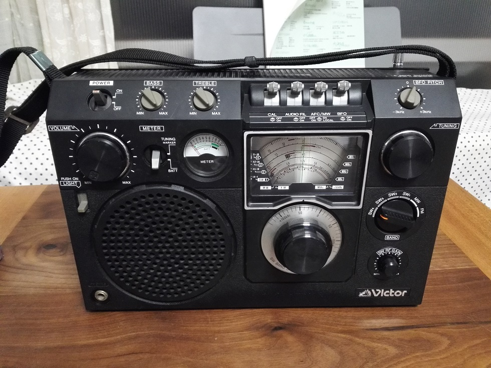 Victor FR-6600 ビンテージラジオ 6バンド ビクター レトロ